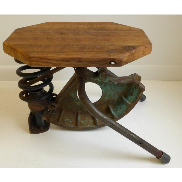 High-Tech Side Table/Seat For Sale - Image 4 of 8