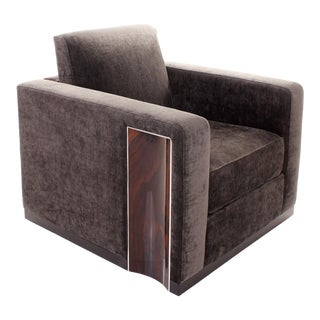 Ziricote Lounge Chair For Sale