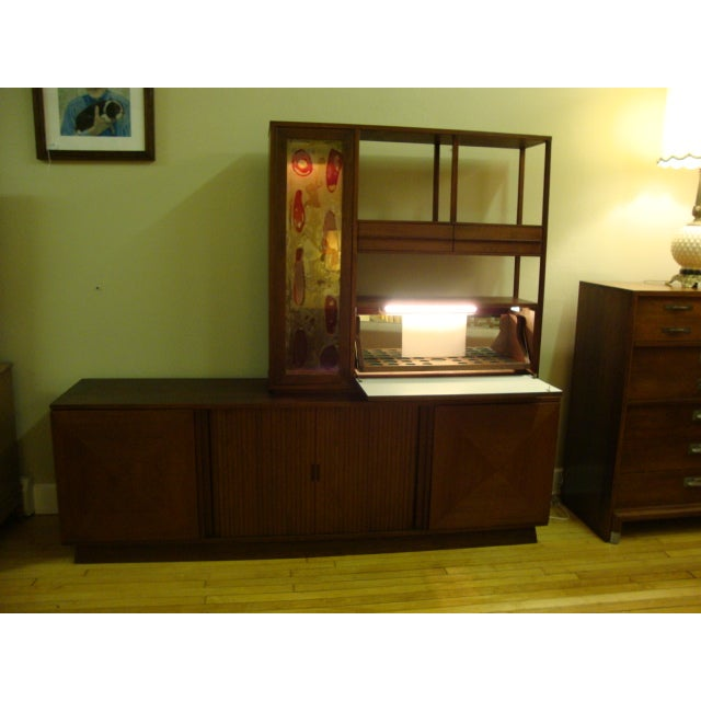 MCM Buffet & China Top With Drop Down Bar - Image 3 of 10
