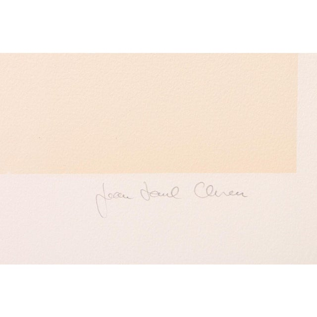"Contemporary Jean Paul Cleren Limited Edition Lithograph-""Visage""-Pencil Signed/Numbered For Sale - Image 3 of 6"