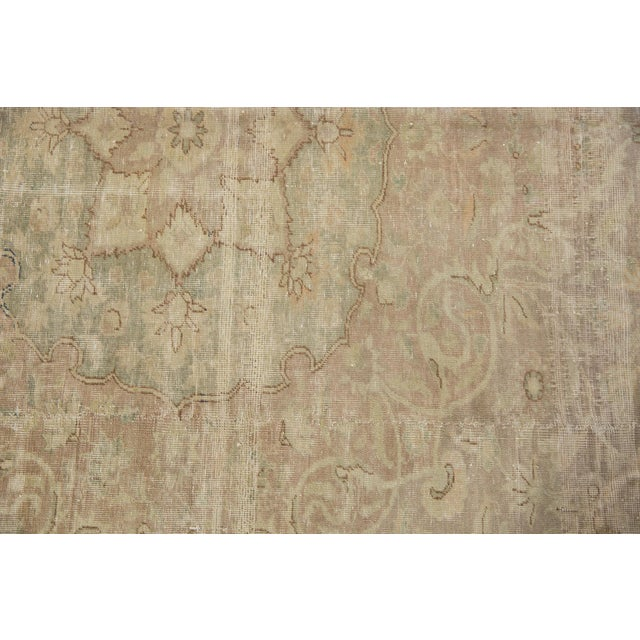"Shabby Chic Vintage Sivas Carpet - 8'4"" X 12'6"" For Sale - Image 3 of 13"