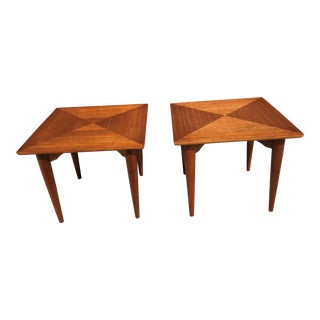 Mid Century Modern Danish Side Tables - Pair For Sale