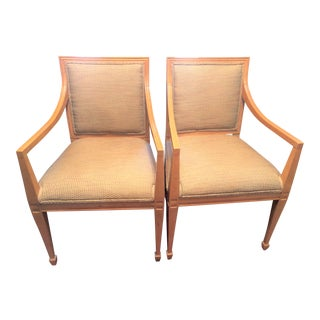 Baker Milling Road Chairs - A Pair For Sale