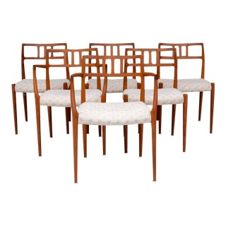 Niels Moller Danish Modern Dining Chairs - Set of 6