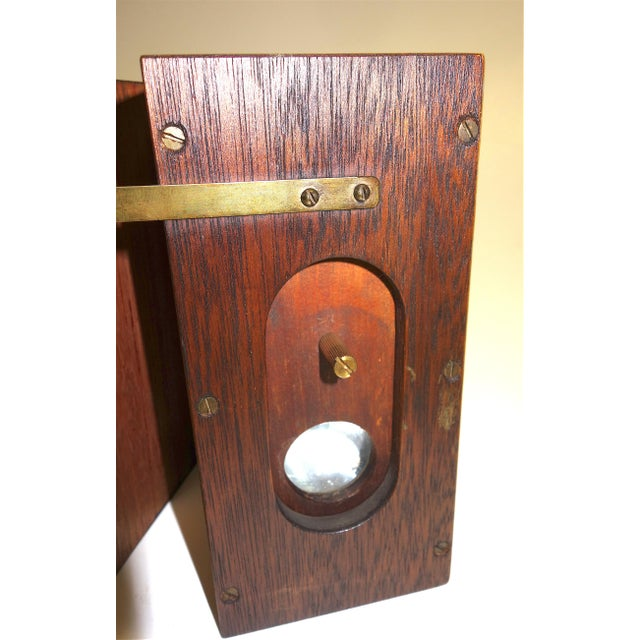 Vermeers Camera. A Circa 1920s Camera Obscura Invented by Anson K. Cross. Rare Hand Made Original For Sale - Image 4 of 12