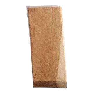 Contemporary Vince Skelly Rectangular Wood Sculpture For Sale