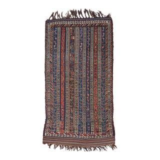 Lori-Qashqai Rug - 4′ × 7′2″ For Sale
