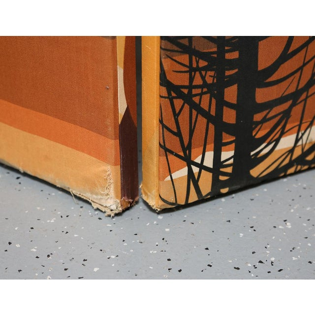 Vintage 2-Panel Room Divider For Sale In New York - Image 6 of 7