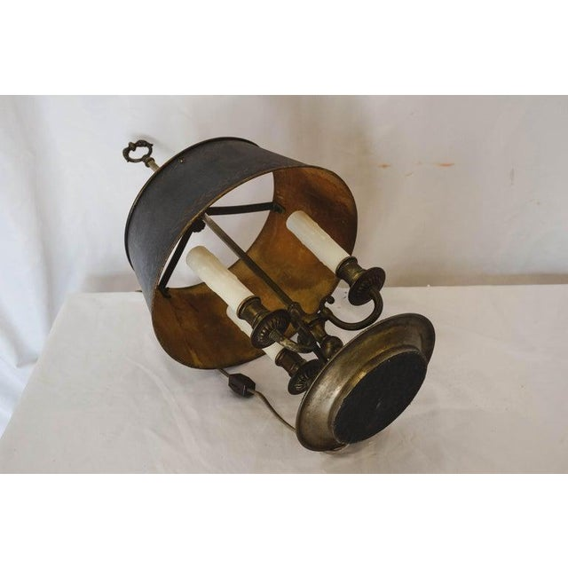 Black French Bouilotte Lamp For Sale - Image 8 of 12