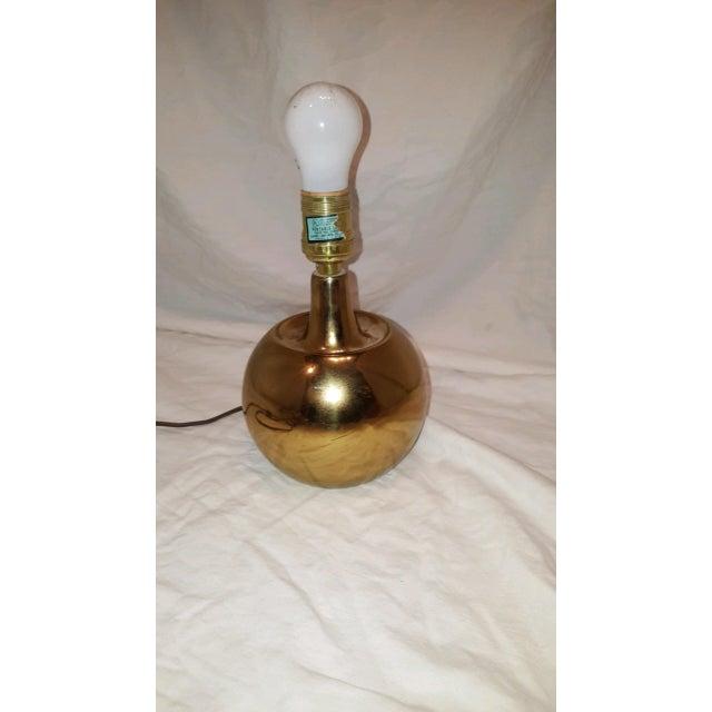 Laurel Lamp Co. Brass Lamp - Image 4 of 8