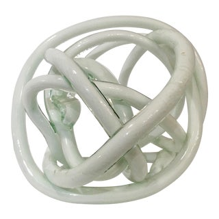 Italian Twisted Murano Glass Sculpture
