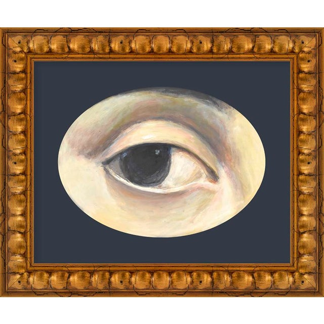 """Contemporary Small """"Lover's Eye 1"""" Print by Susannah Carson, 12"""" X 10"""" For Sale - Image 3 of 3"""