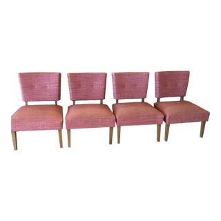 Mid-Century Modern Slipper Chairs - Set of 4