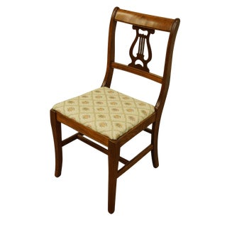 Tell City Mahogany Duncan Phyfe Style Chair For Sale