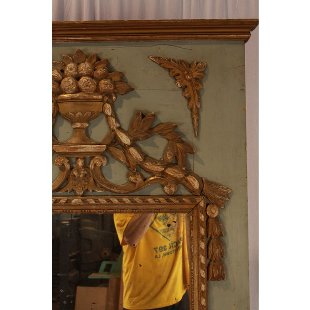 Mid 18th Century 18th Century French Avignon Mirror For Sale - Image 5 of 6