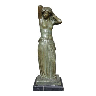 French Art Deco Bronze Figure by Georges Gori For Sale