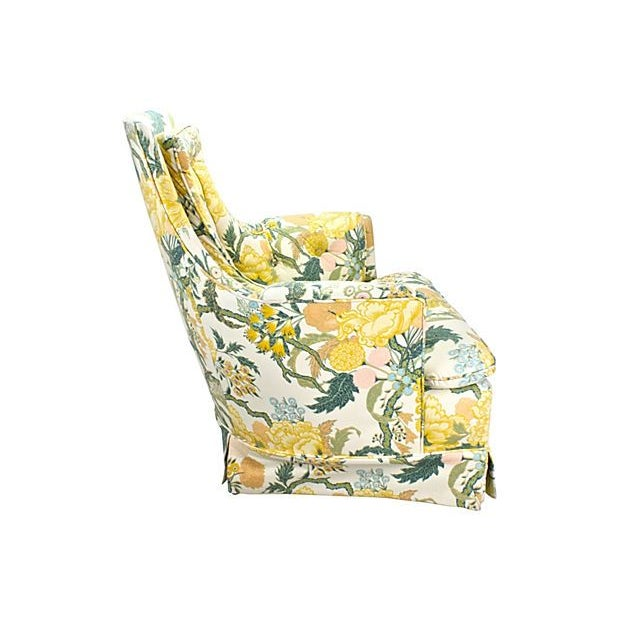 1960s Hollywood Regency Upholstered Chair - Image 2 of 5