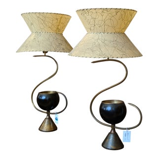 1950s Mid-Century Modern Lamps - a Pair For Sale