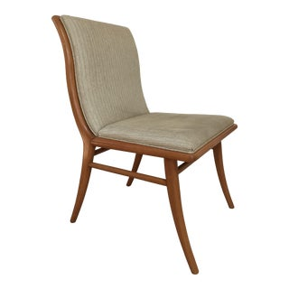 t.h. Robsjohn-Gibbings Saber Leg Chair For Sale