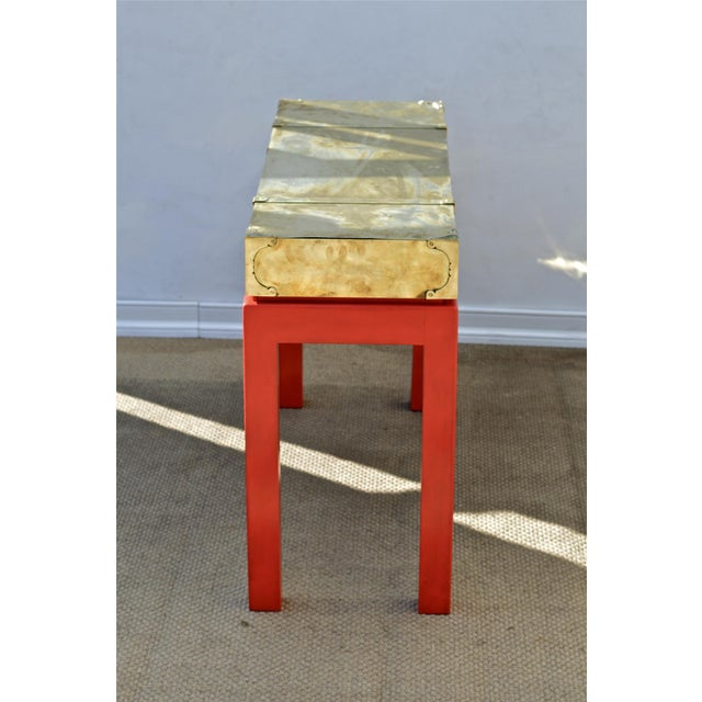 Brass Campaign Style Console - Image 7 of 11