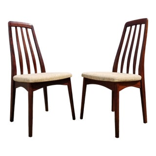 Rosewood Danish Modern Dining Chairs by Svegards - a Pair For Sale