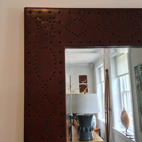 Ralph Lauren Home Safari Mirror - Image 6 of 7