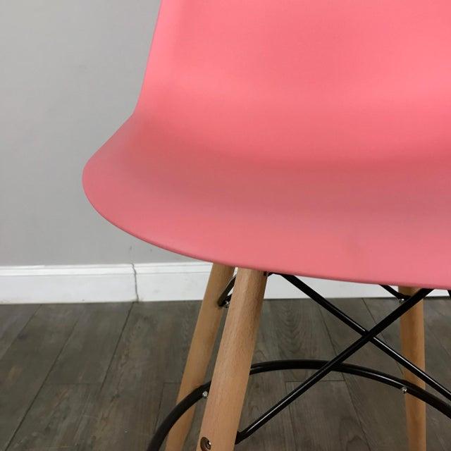 Pink Mid-Century Bar Stools - Set of 2 - Image 9 of 11