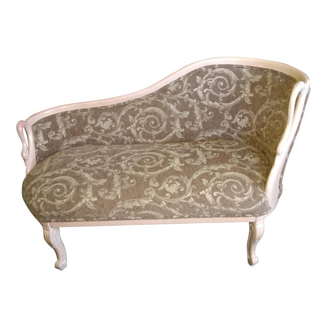 Different Types Of Sofa Settee Sock Arm: Swan Carved Arms Settee