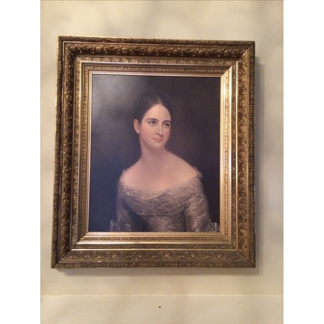 American Miss Pearce by Thomas Sully For Sale - Image 3 of 7