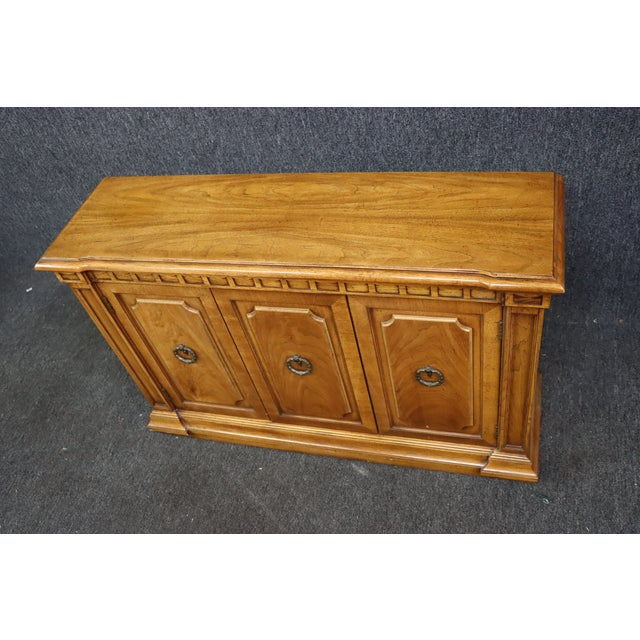 Italian Style Fruitwood Credenza For Sale In Philadelphia - Image 6 of 9