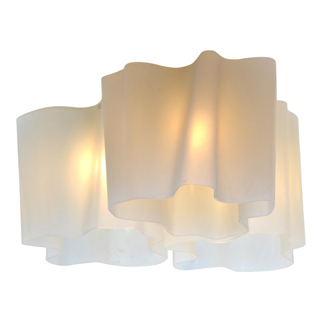 Modern Logico Triple Nested Semi-Flush Mount by Artemide Italy For Sale