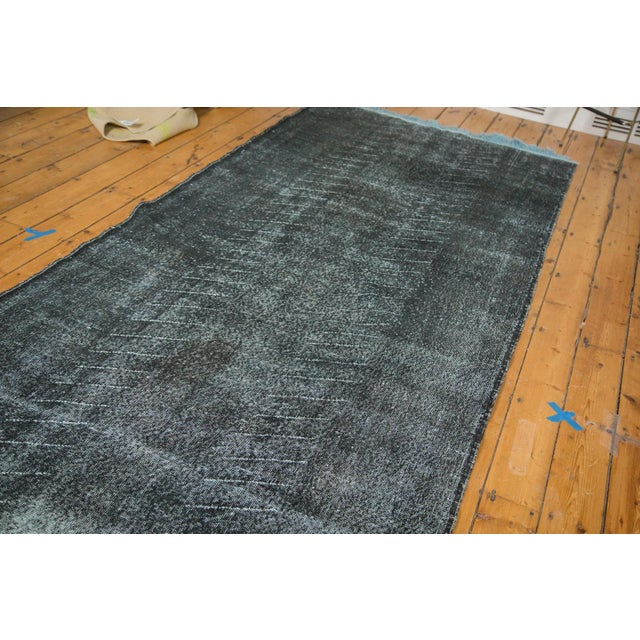 """Vintage Overdyed Distressed Runner - 4'8"""" x 12'6"""" - Image 5 of 9"""