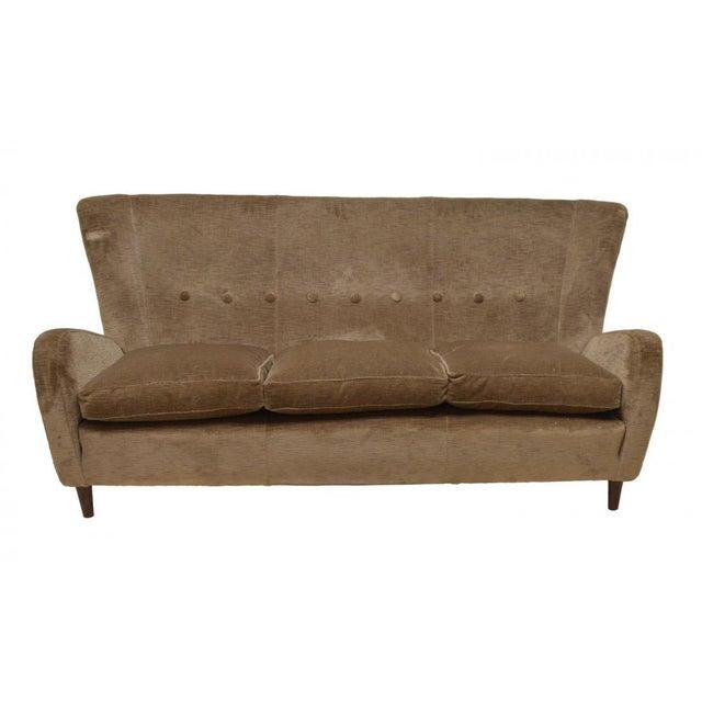 Paolo Buffa Paolo Buffa Italian Mid Century Modern Sofa, Circa 1950 For Sale - Image 4 of 4