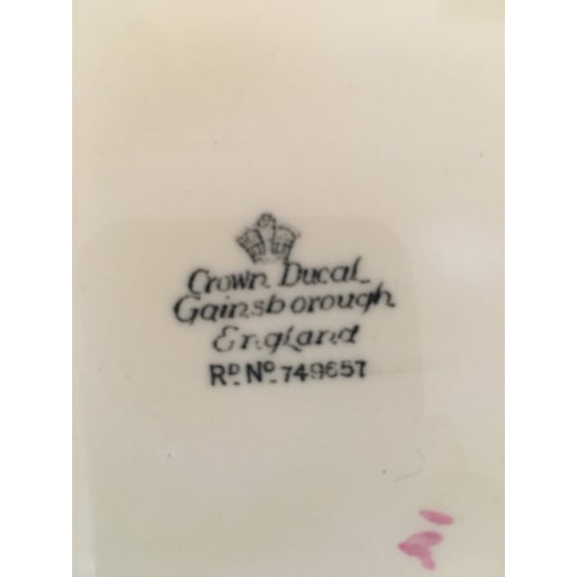 American Crown Ducal Dinner Plates - Set of 4 For Sale - Image 3 of 5