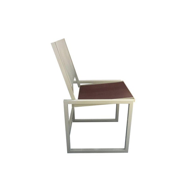 The Vernon Dining Chair is defined by its combination of subtly edgy angles and mid-century nostalgic silhouette. This...