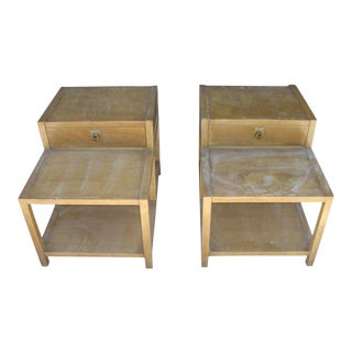 1960s Vintage American of Martinsville Nightstands-a Pair For Sale