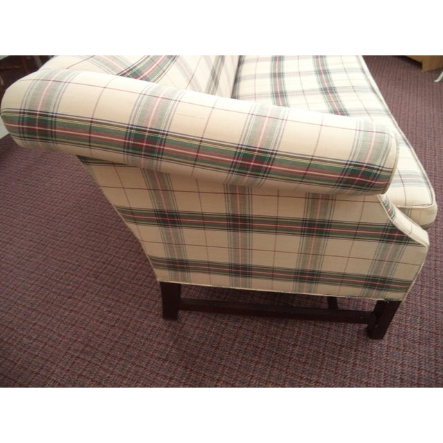 Chippendale Paul Robert Chippendale Style Camelback Sofa For Sale - Image 3 of 9