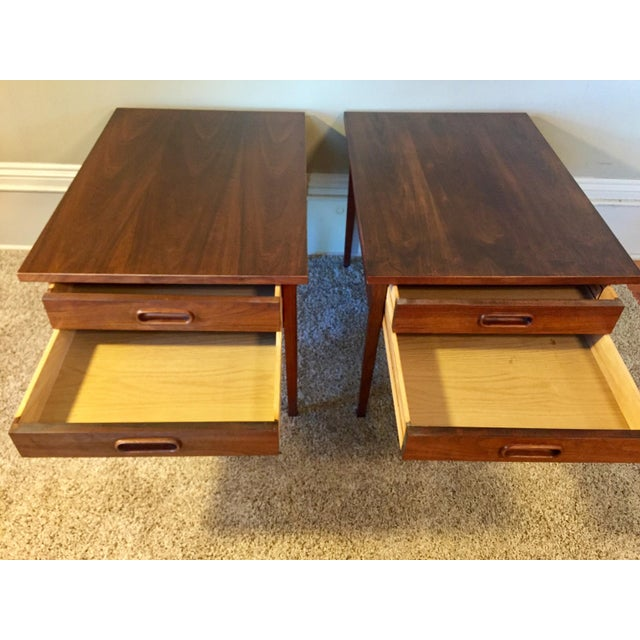 Jack Cartwright End Tables for Founders - A Pair For Sale - Image 10 of 11