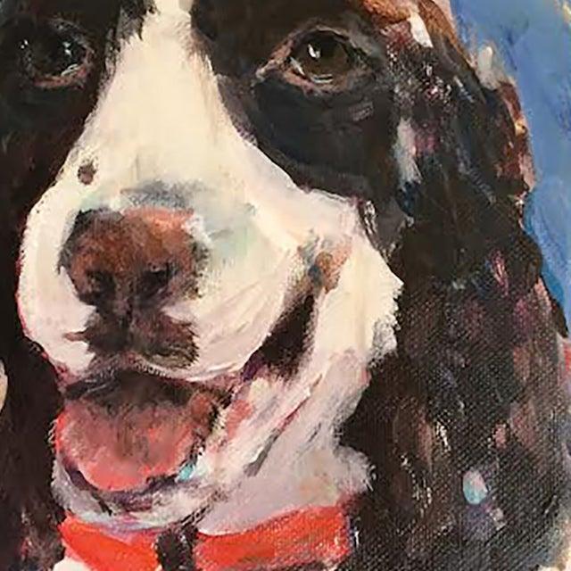 Mary Houston Painting - Happy Dog - Image 2 of 2