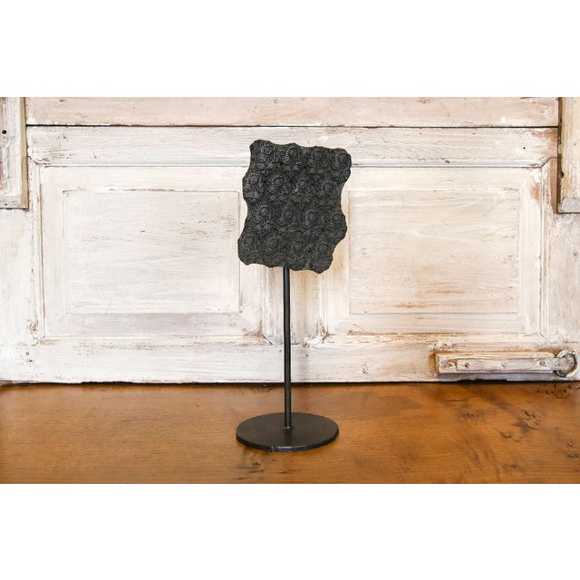 Early 21st Century Keri Floral Print Block on Stand For Sale - Image 5 of 5