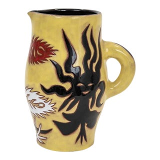 Jean Lurcat Ceramic Pitcher for Sant Vincens For Sale