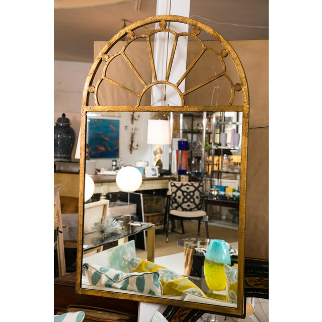 Gilt Encrusted Iron Arch Mirror - Image 2 of 5