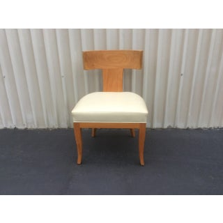 Mid Century Style Ceres Chair With Leather Seat by Ironies Preview
