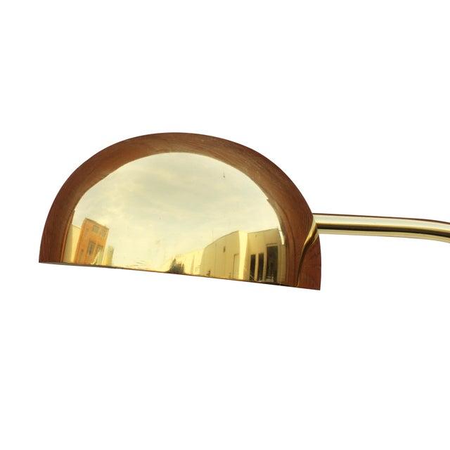 Brass Arc Floor Lamp - Image 3 of 9