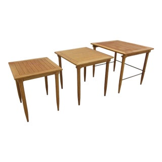Mid-Century Modern Tomlinson Nesting Tables - Set of 3 For Sale
