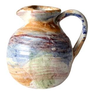 Vintage Studio Pottery Creamer For Sale