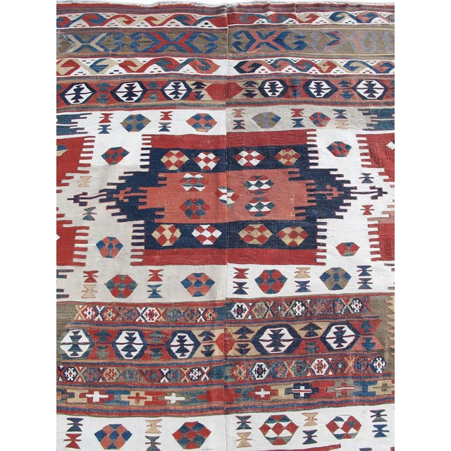 Early 19th Century Karapinar Kilim Rug - 5′4″ × 13′ For Sale - Image 5 of 6