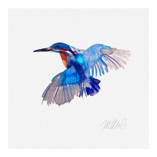 Giclee Print Kingfisher For Sale