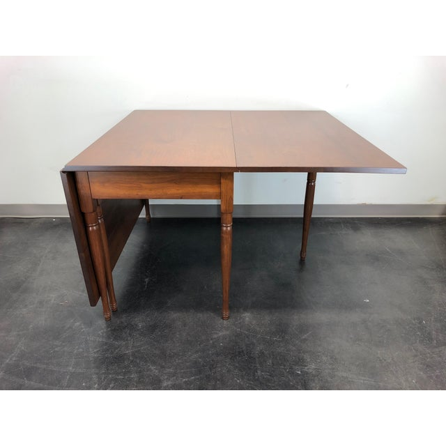 2000 - 2009 Ea Clore Sons Gate Leg Drop Leaf Table No. 513-T For Sale - Image 5 of 13