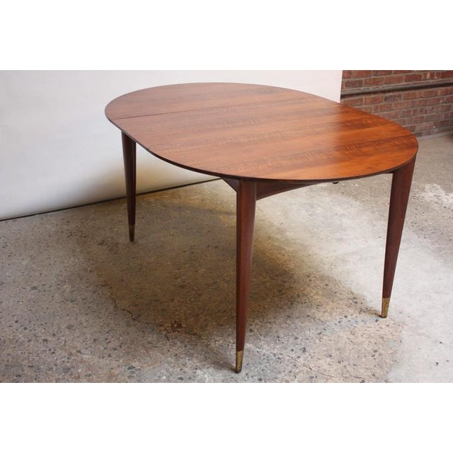 Gio Ponti Italian Walnut Dining Table for Singer & Sons - Image 2 of 11
